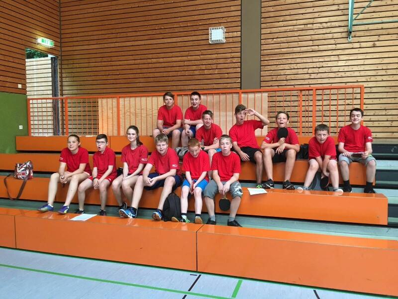 Unser Nachwuchs beim Jugend-Kreisklassen-Cup Tauberfranken in Weikersheim.